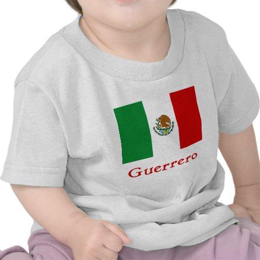 Guerrero Mexican Flag T Shirt