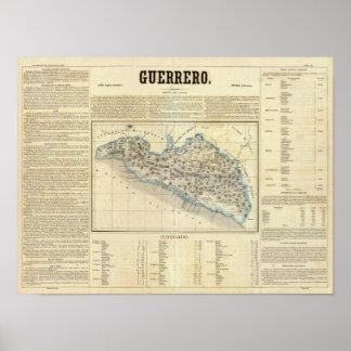 Guerrero, Mexico Poster