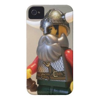 Guerrero Minifigure de encargo de Viking con el iPhone 4 Protectores