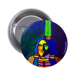 Guerrero místico o-11 pin redondo 5 cm