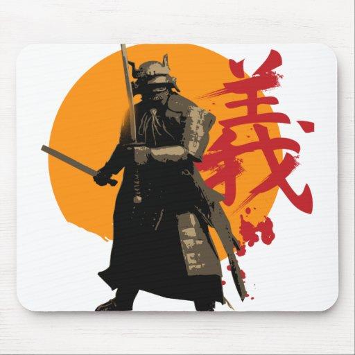 Guerrero Mousepad del samurai