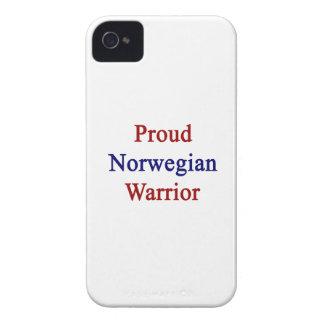 Guerrero noruego orgulloso Case-Mate iPhone 4 cárcasas