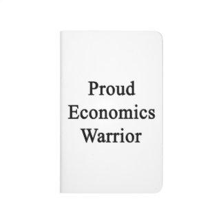 Guerrero orgulloso de la economía cuadernos