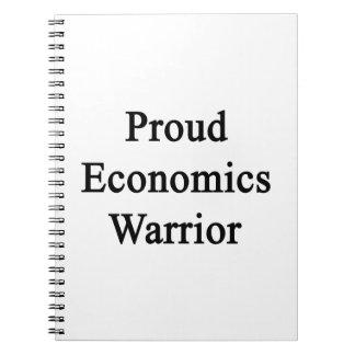 Guerrero orgulloso de la economía libro de apuntes