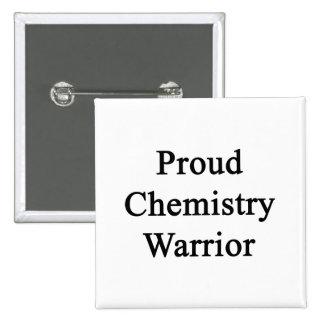 Guerrero orgulloso de la química pin