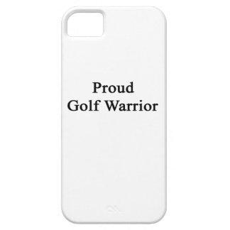 Guerrero orgulloso del golf iPhone 5 Case-Mate cobertura