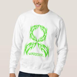Guerrero para hombre del cáncer del linfoma tribal suéter