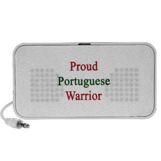 Guerrero portugués orgulloso mini altavoces