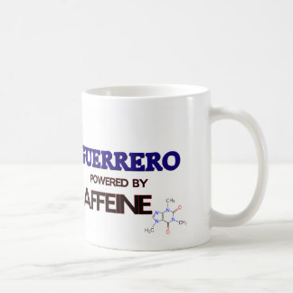 Guerrero powered by caffeine mugs