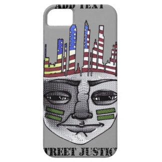 Guerrero urbano por la justicia de la calle funda para iPhone 5 barely there