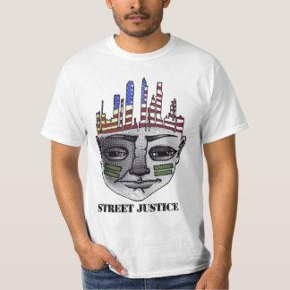 Guerrero urbano por la justicia de la calle poleras