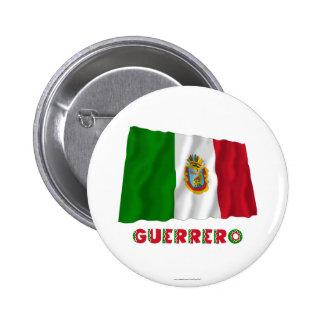 Guerrero Waving Unofficial Flag Pin