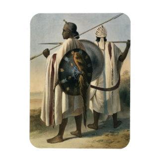 Guerreros abisinios, ejemplo 'del valle imán flexible