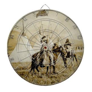 Guerreros de cabeza llana del nativo americano del