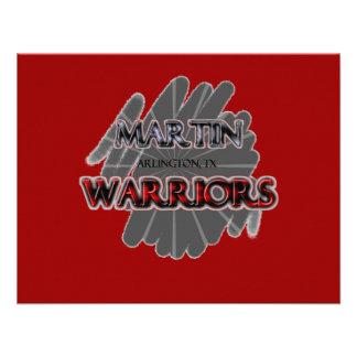 Guerreros de la High School secundaria de Martin - Anuncio Personalizado