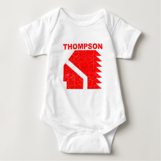 Guerreros de la High School secundaria de Thompson Body Para Bebé