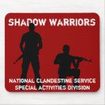 Guerreros de la sombra - servicio clandestino naci tapete de ratón