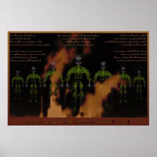 guerreros de la tierra póster