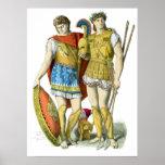 Guerreros del griego clásico posters