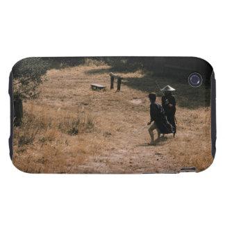 Guerreros del samurai que se atacan 11 iPhone 3 tough coberturas