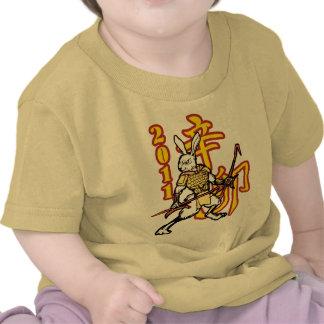 Guerreros del zodiaco: Año del conejo de oro, Camiseta