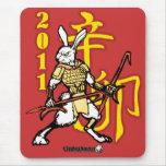 Guerreros del zodiaco: Año del conejo de oro Tapetes De Raton