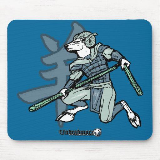 Guerreros del zodiaco: Año del espolón Mousepads