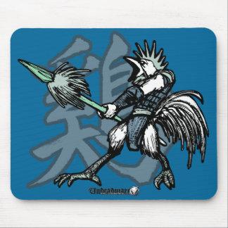 Guerreros del zodiaco: Año del gallo Mousepads
