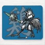 Guerreros del zodiaco: Año del gallo Tapetes De Raton