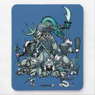 Guerreros del zodiaco mousepads