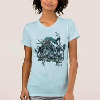 Guerreros del zodiaco camisetas