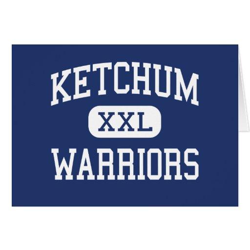 Guerreros Ketchum medio Oklahoma de Ketchum Tarjeton