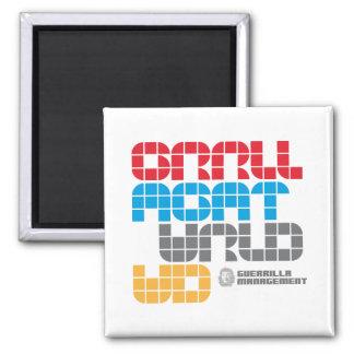Guerrilla Management Logo 21 Magnet