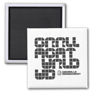 Guerrilla Management Logo 4 Magnet