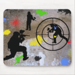 Guerrilla urbana Paintball Mouse Pad