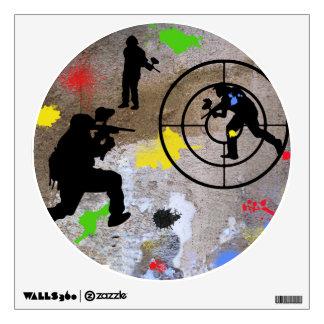 Guerrilla urbana Paintball Vinilo Adhesivo