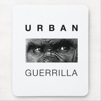 Guerrilla urbana alfombrilla de ratón