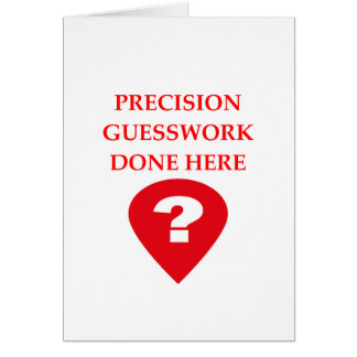 GUESS CARD