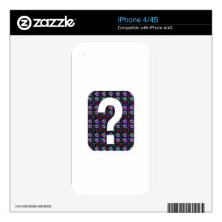 GUESS the GIFT question Symbol Art NVN543 ALL FUN iPhone 4 Decal
