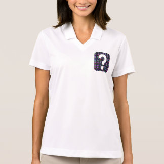 GUESS the GIFT question Symbol Art NVN543 ALL FUN Polo Shirt