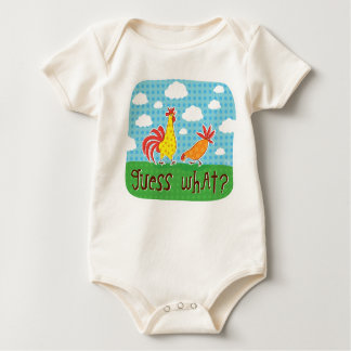 guess what chicken butt baby suit creeper
