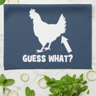 Guess What? Chicken Butt Towel