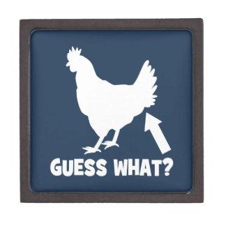 Guess What? Chicken Butt Premium Trinket Box