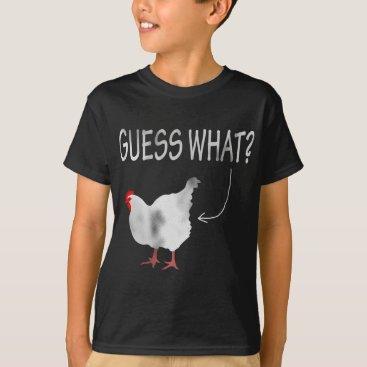 LennyFace Guess What? Chicken Butt! T-Shirt