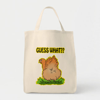 Guess what? Chicken butt! Tote Bag