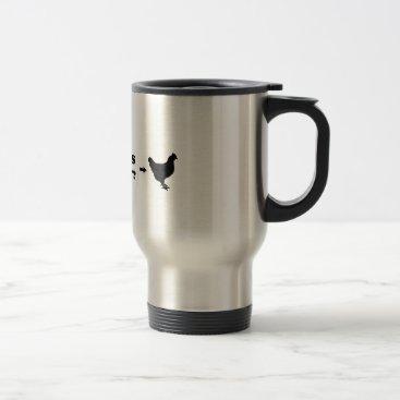 animaltown Guess What, Chicken Butt Travel Mug