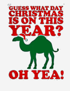 Guess What Day Christmas Is On This Year American T Shirt