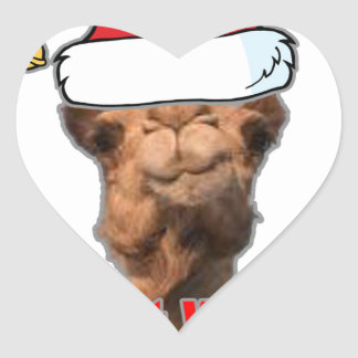 Guess What Day Christmas is on this year Tshirt jh Heart Sticker