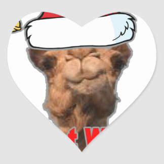 Guess What Day Christmas is on this year Tshirt mk Heart Sticker