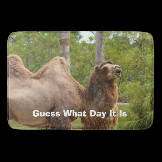 Guess What Day It Is Camel Custom Kitchen Mat /